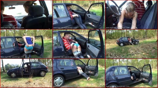 car Spank in