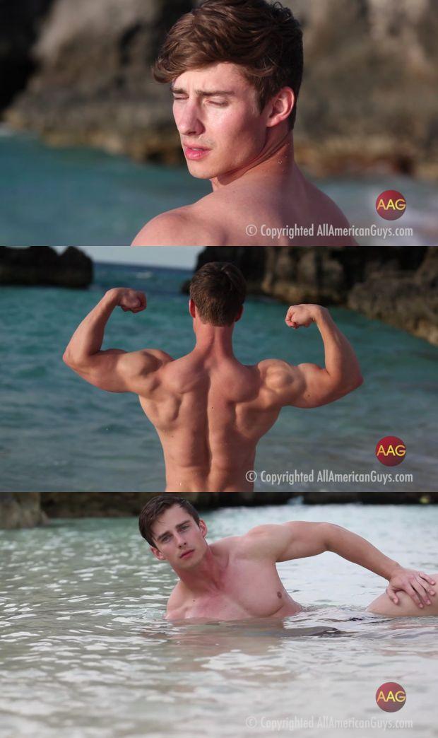 AllAmericanGuys Tyson, island photo shoot footage_cover,