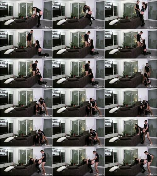Meli-Deluxe - Auf die Knie wo ich Schlampe hingehore [FullHD 1080p] (MDH)