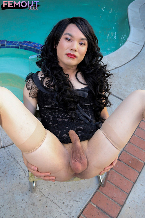 Angel Baby - Doing It All By The Pool! [HD 720p] (FemoutXXX)