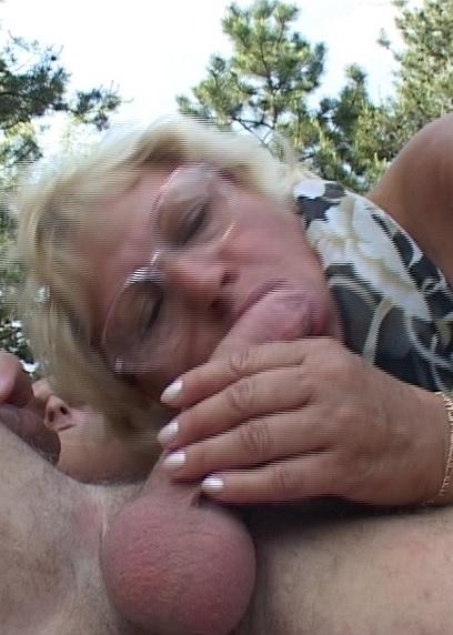 Grandma Fucks Like An Acrobat With Young Stallion