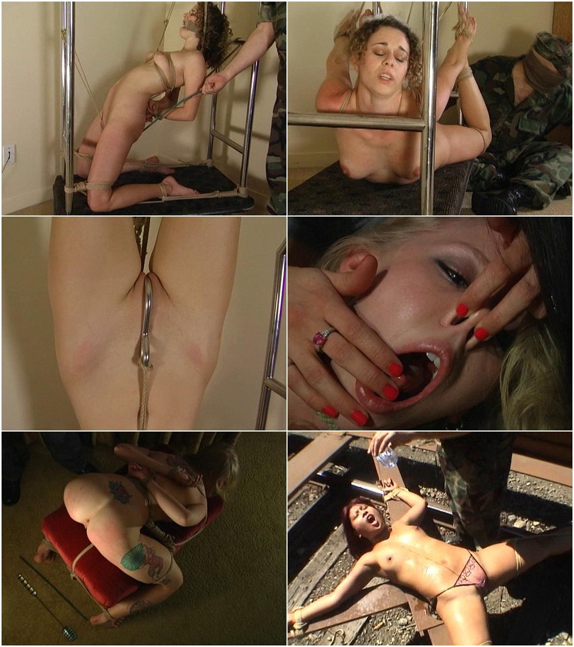 Can Abduction bondage video