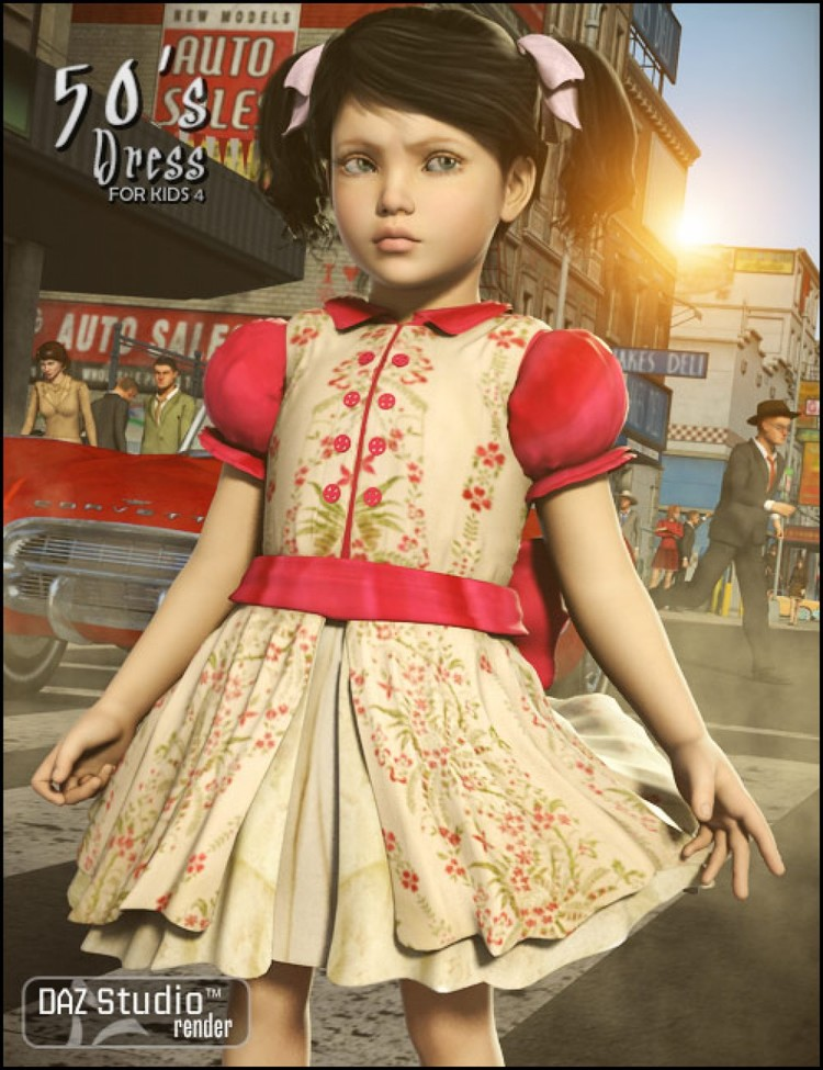 50's Dress for Kids 4