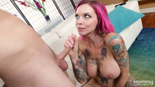 Anna Bell Peaks - My Tattooed Stepmom Blew Me / 22.02.2017