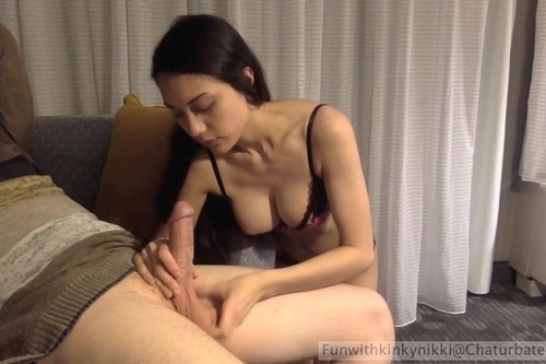 Eating pussy filled with cum