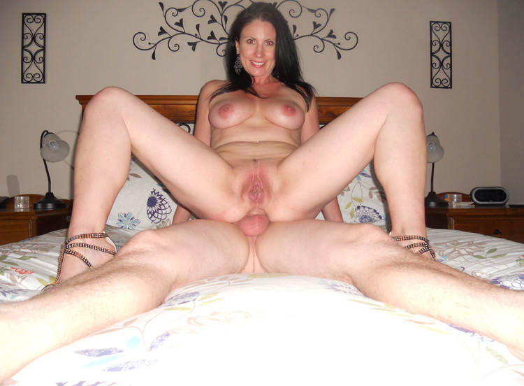 Naked milf with black